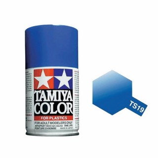 Bleu Métal Brillant Spray de 100ml-TAMIYA TS19