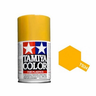Jaune Camel Brillant Spray de 100ml-TAMIYA TS34