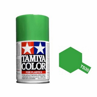 Vert Pré Brillant Spray de 100ml-TAMIYA TS35