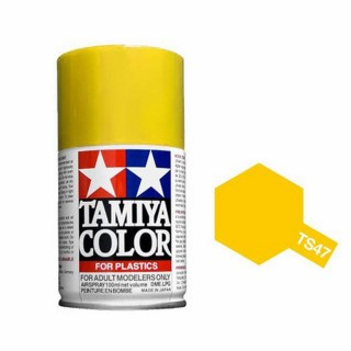 Jaune Chrome Brillant Spray de 100ml-TAMIYA TS47