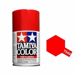 Rouge vif brillant Spray de 100ml-TAMIYA TS49