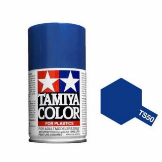 Bleu Mica Brillant Spray de 100ml-TAMIYA TS50