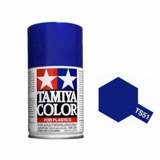 Bleu Telefonica Brillant Spray de 100ml-TAMIYA TS51