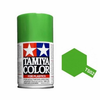 Vert Candy Brillant Spray de 100ml-TAMIYA TS52