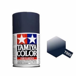 Bleu Foncé Métal Brillant Spray de 100ml-TAMIYA TS53