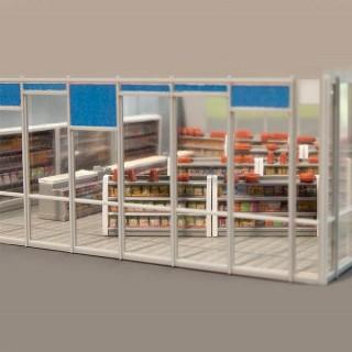 Aménagement intérieur de magasin-HO-1/87-FALLER 180565