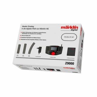 Coffret mobile station digitale avec rails complet-HO-1/87-MARKLIN 29000