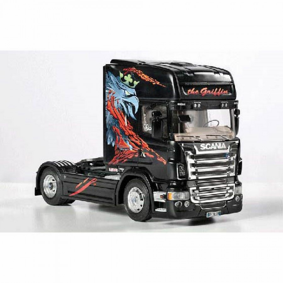 Camion scania r730 the griffin italeri 3879 mod lisme et for The griffin