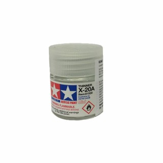 Diluant pot de 10ml-TAMIYA X20A 81520