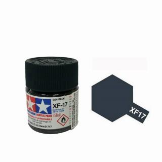 Bleu Mer foncé pot de 10ml-TAMIYA XF17