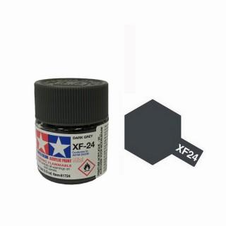 Gris Foncé mat pot de 10ml-TAMIYA XF24