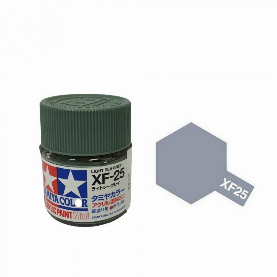 Gris Mer clair mat pot de 10ml-TAMIYA XF25