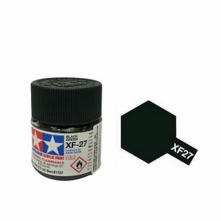 Vert Noir mat pot de 10ml-TAMIYA XF27