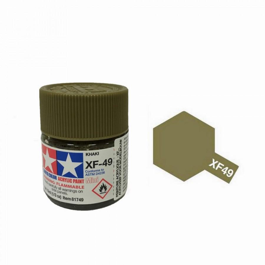 Kaki mat pot de 10ml-TAMIYA XF49