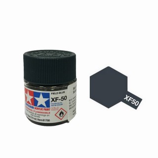 Bleu Campagne mat pot de 10ml-TAMIYA XF50