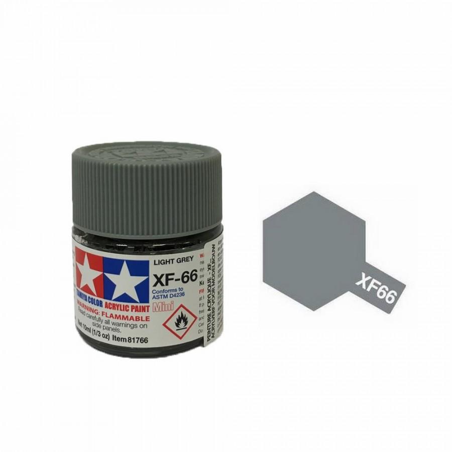 Gris Clair mat pot de 10ml-TAMIYA XF66