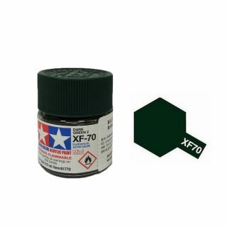 Vert Foncé 2 mat pot de 10ml-TAMIYA XF70