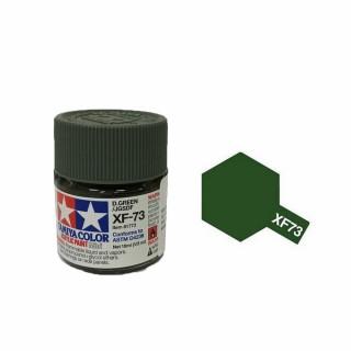 Vert Foncé JGSDF mat pot de 10ml-TAMIYA XF73
