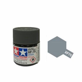 Gris Japonais Kure mat pot de 10ml-TAMIYA XF75