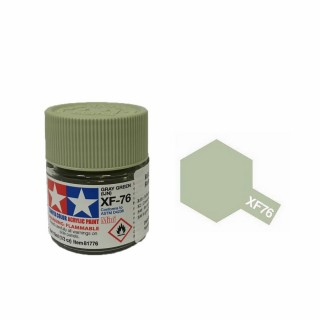 Gris Vert Japonais mat pot de 10ml-TAMIYA XF76
