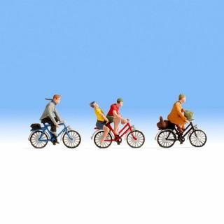 3 cyclistes pour votre diorama-HO-1/87-1/87-NOCH 15898