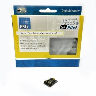 Décodeur digital lokpilot V4.0 DCC plux 22 Nem 658-ESU-54617