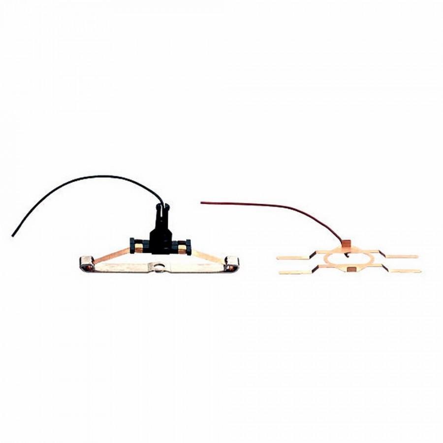 Patin et lamelle d'alimentation courant-HO-1/87-MARKLIN 73405