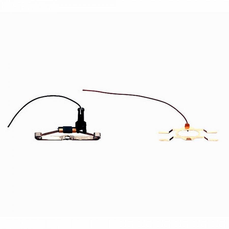 Patin et lamelle d'alimentation courant-HO-1/87-MARKLIN 73406