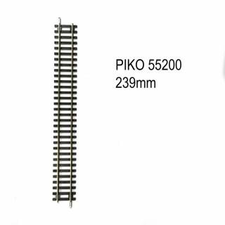 Rail droit 239mm code 100 -HO-1/87-PIKO 55200