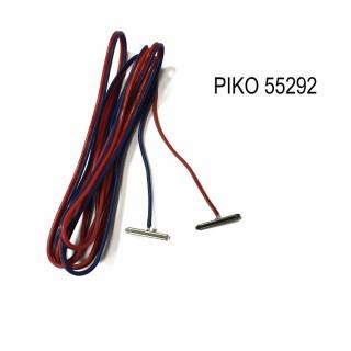 2 éclisses d'alimentation rail code 100 -HO-1/87-PIKO 55292