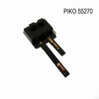 Prise d'alimentation 2 pôles pour rails  code 100 -HO-1/87-PIKO 55270