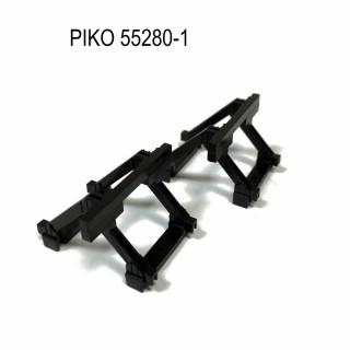 2 butoirs pour rail Piko code 100 -HO-1/87-PIKO 55280