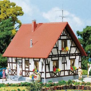 Maison à colombages maquette à monter-HO-1/87-FALLER 130222