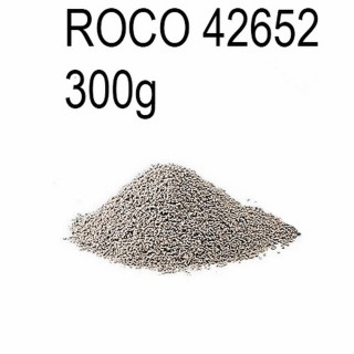 Ballast gris 0.5 à 1.5mm 300g -HO-1/87-ROCO 42652