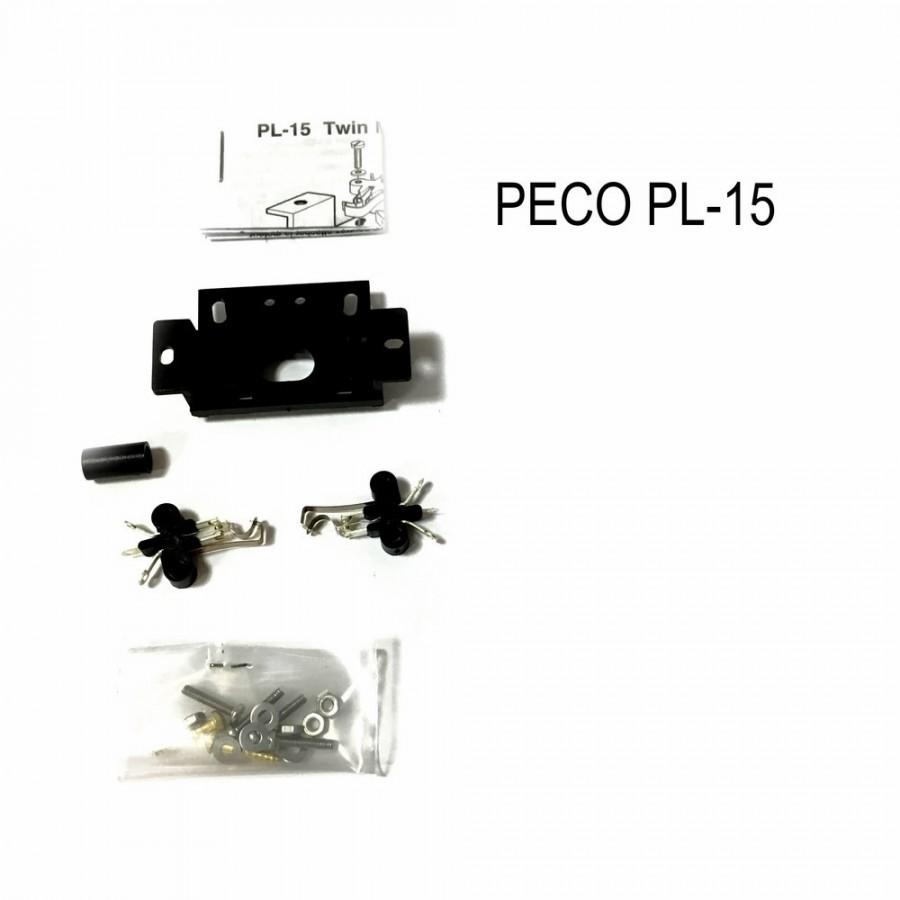 Contacteur double fin de course pour moteur d'aiguillage-HO-1/87-PECO PL-15