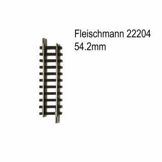 Rail droit 54.2mm-N-1/160-FLEISCHMANN 22204