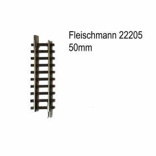 Rail droit 50mm-N-1/160-FLEISCHMANN 22205