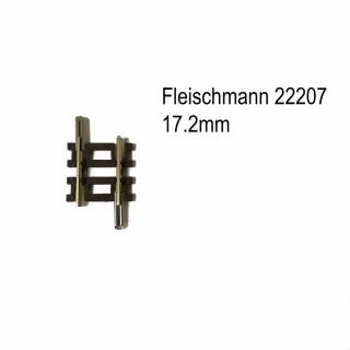 Rail droit 17.2mm-N-1/160-FLEISCHMANN 22207