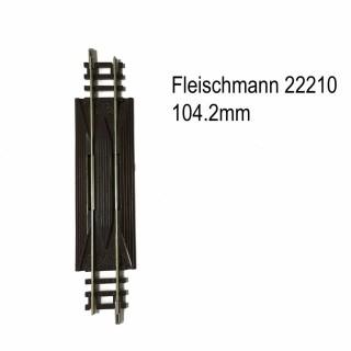 Rail droit 104.2mm  autoenrailleur -N-1/160-FLEISCHMANN 22210