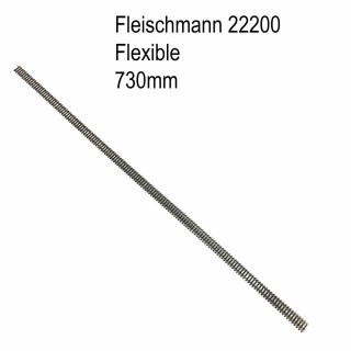 Rail flexible 730mm-N-1/160-FLEISCHMANN 22200