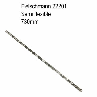 Rail semi-flexible 730mm-N-1/160-FLEISCHMANN 22201
