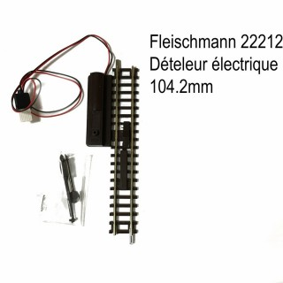 Rail de dételage électrique 104.2mm -N-1/160-FLEISCHMANN 22212