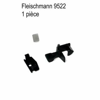 1 attelage avec lamelle et capot-N-1/160-FLEISCHMANN 9522