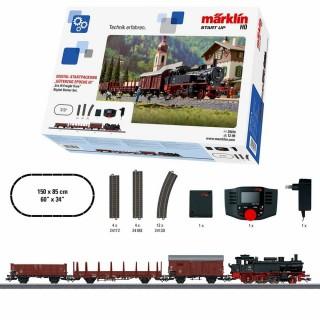 Coffret de démarrage fret vapeur DB digitale-HO-1/87-MARKLIN 29074