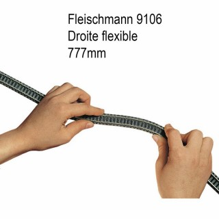 Rail profi flexible 777mm à ballast-N-1/160-FLEISCHMANN 9106