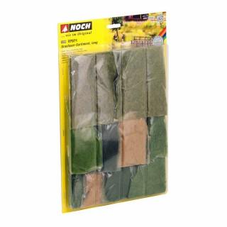 Assortiments de fibres d'herbes de 6mm à 12mm-HO-1/87-NOCH 07071