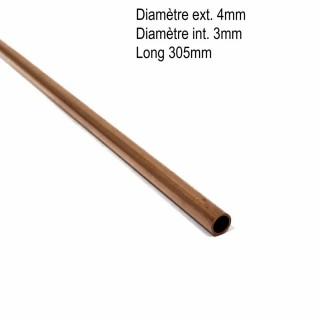 Tube cuivre 4mmx0.45mm longueur 305mm-ALBION ALLOYS CT4M