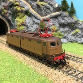"Locomotive E.636.166 FS avec ""Athermos"" épIIIb-HO-1/87-LEMODELS 20621"