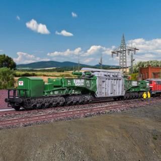Wagon transport spéciaux Man Uaai 687.9-HO-1/87-KIBRI 16500