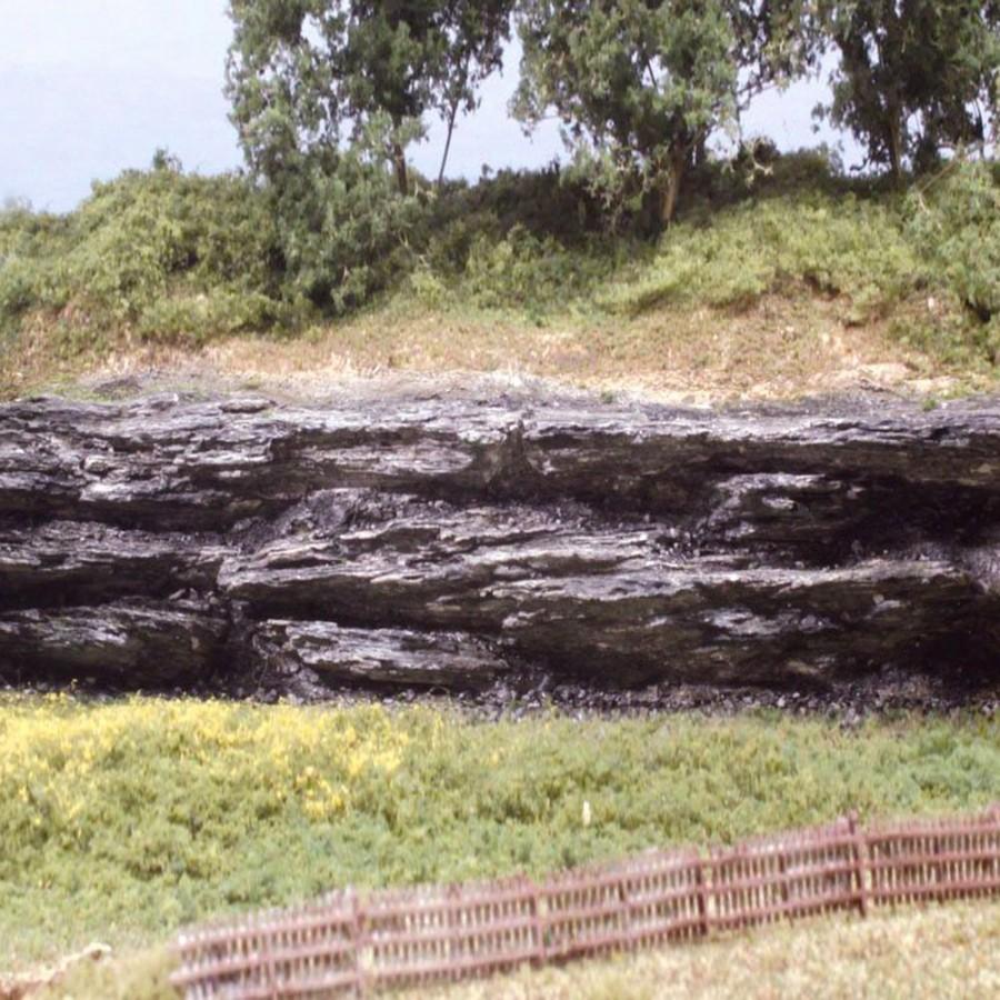 6 parois rocheuses accidentées -HO et N-WOODLAND SCENICS C1136